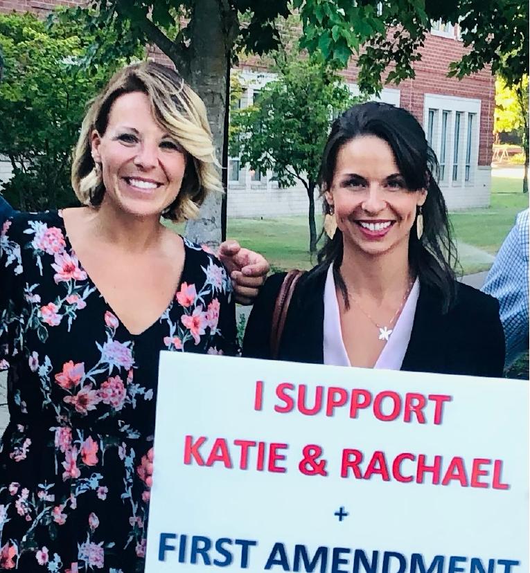Rachel Damiano y Katie Medart